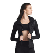 Adult Dance Active Fitted Jacket with Thumbholes