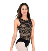 Adult Lace Bodice Tank Leotard
