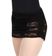 Adult Vintage Whisper Ruched Pull-On Skirt