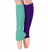 Adult/Child 18 Solid Fuzzy Legwarmers