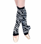 Adult/Child 18 Zebra Legwarmers