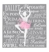 Ballerina Tutu Plaque