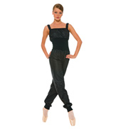Adult Sauna Unitard with Knitted Waist