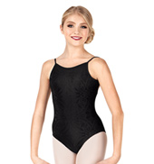 Child/Teen Natalia Burnout Velvet Camisole Leotard