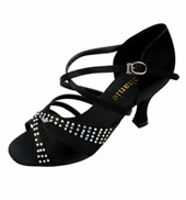 Ladies Crystal Collection Latin/Rhythm Ballroom Shoe