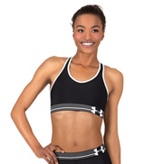 Adult HeatGear Elastic Band Fitness Sports Bra