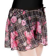 Girls Printed Pull-On Skirt