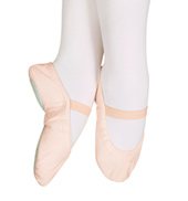 Child Star Split Canvas Split-Sole Ballet Slipper