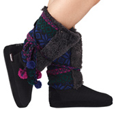 Adult Jewel Patterned Boots