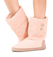 Adult Sofia Crochet Knit Warm Up Boots