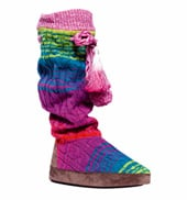 Adult Angie Rainbow Knit Boot