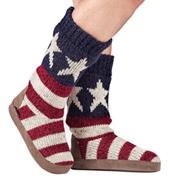 Adult Vanessa American Flag Boots