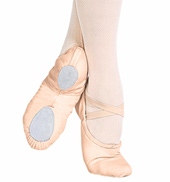Child Cobra Canvas Split-Sole Ballet Slipper