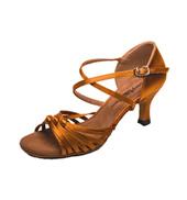 Ladies 2.5 Latin Series X-Strap Ballroom Shoe