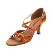 Ladies 2.5 Latin Series Knot Ballroom Shoe