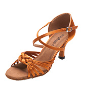 Ladies 2.5 Latin Series Braid Ballroom Shoe