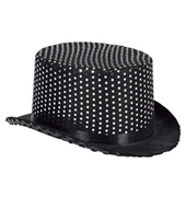 12-Pack Sequin Top Hats