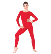 Adult Long Sleeve Nylon Unitard