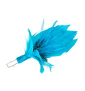 Small Feather Flower Clip