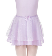 Girls Hologram Dot Pull-On Skirt