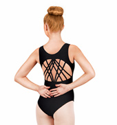 Adult Multi-Strap Back Tank Leotard