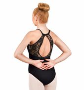 Adult Lace Back Camisole Leotard