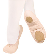 Adult TotalSTRETCH Canvas Split-Sole Ballet Slippers