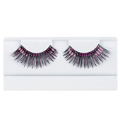 Black &amp; Hot Pink Stage Eyelashes