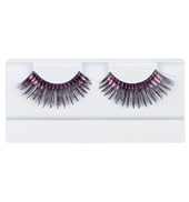 Black & Hot Pink Stage Eyelashes