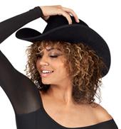 12-Pack Felt Cowboy Hats