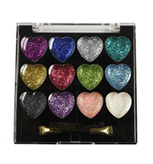 Heart Shaped Glitter Eye Shadow Kit