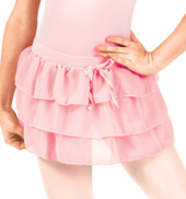 Girls 3-Tier Ruffle Skirt