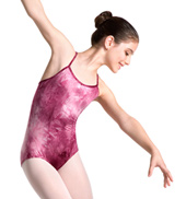 Child Tie Dye Camisole Leotard