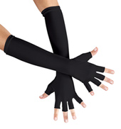 Adult 15 Fingerless Gloves