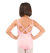 Girls Camisole Leotard with X-Back