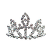 Small Rhinestone Tiara