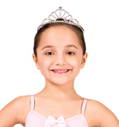 Full Size Rhinestone Tiara