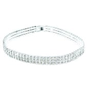 Rhinestone Elastic Choker 13