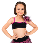 Girls Camisole Bra Top with Poof