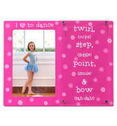 I Love To Dance Picture Frame