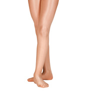 Girls Ultra Shimmery Footed Tights