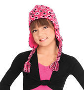 Child Knit Hat with Ear Flaps