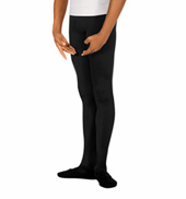 Mens Footed Microfiber Tights