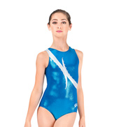 Child Electric Turquoise Leotard