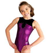 Child Modern Sweetheart Jeweled Tank Leotard