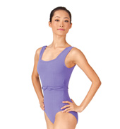 Adult Square Neck Princess Seam Tank Leotard