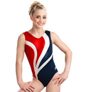 Girls Nautical Beauty Tank Leotard