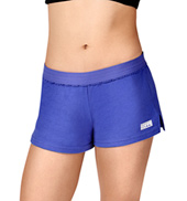 Adult Low-Rise Fold-Over Waist Dance Shorts