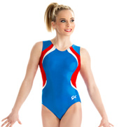 Girls True Blue Tank Leotard