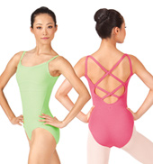 Adult Cross Back Camisole Leotard
